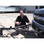 Blue Ox Avail Tow Bar Installation - 2020 Chevrolet Colorado