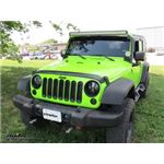 Blue Ox Base Plate Kit Installation - 2013 Jeep Wrangler Unlimited