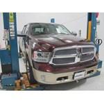 Blue Ox Base Plate Kit Installation - 2014 Ram 1500