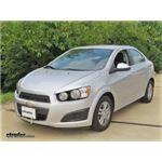 Blue Ox Base Plate Kit Installation - 2014 Chevrolet Sonic