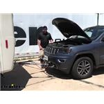 BrakeBuddy Towed Vehicle Battery Charge Kit Installation - 2019 Jeep Grand Cherokee
