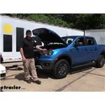 BrakeBuddy Towed Vehicle Battery Charge Kit Installation - 2021 Ford Ranger