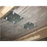 Brophy Zinc Plated E-Track Backing Plate Installation