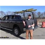 Buyers Products Truck Bed Ladder Rack Review - 2019 Ram 2500