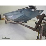 Yates Boat Trailer Keel Roller and CE Smith Bracket Installation