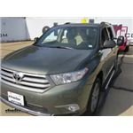 CIPA Clamp On Universal Fit Towing Mirror Installation - 2013 Toyota Highlander