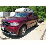 CIPA Clamp on Universal Fit Towing Mirror Installation - 2017 Dodge Durango