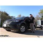 CIPA Strap On Universal Fit Towing Mirror Installation - 2014 Honda CR-V
