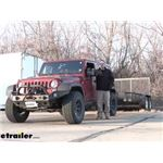 CIPA Clip-On Universal Fit Towing Mirrors Installation - 2014 Jeep Wrangler Unlimited