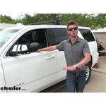 CIPA Dual-View Clip-on Towing Mirror Installation - 2020 Chevrolet Tahoe