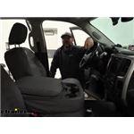 Covercraft Carhartt SeatSaver Front Seat Covers Installation - 2014 Ram 2500