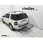 Curt Hitch Cargo Carrier Review - 2007 Ford Explorer