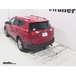 Curt Folding Aluminum Cargo Carrier Review - 2013 Toyota RAV4