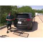Curt Hitch Cargo Carrier Review - 2016 Mazda CX-5