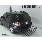 Curt Hitch Cargo Carrier Review - 2010 Subaru Forester