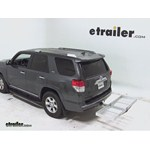 Curt Folding Aluminum Cargo Carrier Review - 2012 Toyota 4Runner