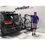 Curt 4 Bike Platform Rack Review - 2014 Jeep Grand Cherokee