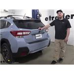 Curt T-Connector Vehicle Wiring Harness Installation - 2019 Subaru Crosstrek