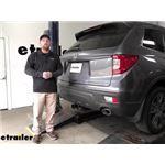 Curt T-Connector Vehicle Wiring Harness Installation - 2020 Honda Passport