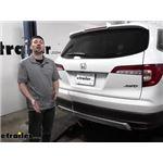 Curt T-Connector Vehicle Wiring Harness Installation - 2020 Honda Pilot