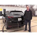 Curt T-Connector Vehicle Wiring Harness Installation - 2020 Mazda CX-5