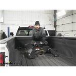 Curt A25 5th Wheel Trailer Hitch Installation - 2018 Chevrolet Silverado 3500