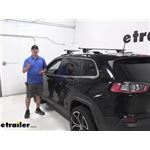 Curt Roof Rack Crossbars Installation - 2019 Jeep Cherokee