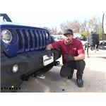 Curt Custom Base Plate Kit Installation - 2020 Jeep Wrangler
