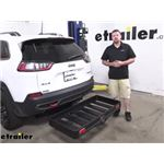 Curt Hitch Cargo Carrier Review - 2019 Jeep Cherokee