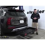 Curt Hitch Cargo Carrier Review - 2020 Kia Telluride