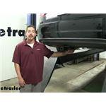 Curt Trailer Hitch Installation - 2012 Volkswagen Passat