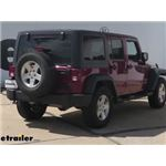 Curt Trailer Hitch Installation - 2014 Jeep Wrangler Unlimited