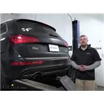 Curt Trailer Hitch Installation - 2017 Audi Q5