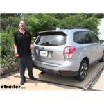 Curt Trailer Hitch Installation - 2017 Subaru Forester