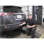 Curt Trailer Hitch Installation - 2017 Toyota RAV4