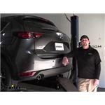 Curt Trailer Hitch Installation - 2019 Mazda CX-5