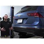 Curt Trailer Hitch Installation - 2019 Volkswagen Tiguan