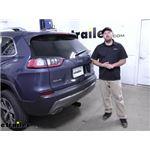 Curt Trailer Hitch Receiver Installation - 2020 Jeep Cherokee