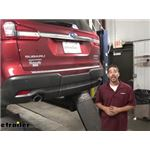 Curt Trailer Hitch Installation - 2020 Subaru Ascent