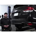 Curt Trailer Hitch Installation - 2020 Subaru Forester