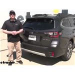 Curt Trailer Hitch Installation - 2020 Subaru Outback Wagon