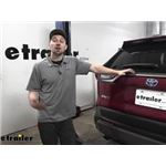 Curt Trailer Hitch Installation - 2020 Toyota RAV4