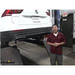 Curt Trailer Hitch Installation - 2020 Volkswagen Tiguan