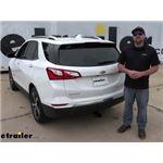 Curt Trailer Hitch Installation - 2021 Chevrolet Equinox
