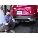Curt Trailer Hitch Installation - 2021 Honda CR-V