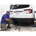 Curt Trailer Hitch Installation - 2021 Honda Pilot