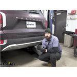 Curt Trailer Hitch Installation - 2021 Hyundai Palisade
