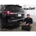 Curt Trailer Hitch Installation - 2021 Subaru Ascent