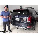 Curt Trailer Hitch Installation - 2022 Hyundai Palisade