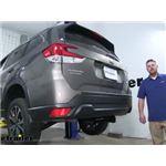 Curt Trailer Hitch Installation - 2019 Subaru Forester